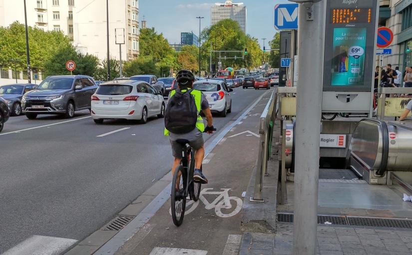Het fietspad van de Wetstraat verdient meerwetenschap